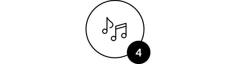 4 - Wil je muziek bedienen met je smartwatch?