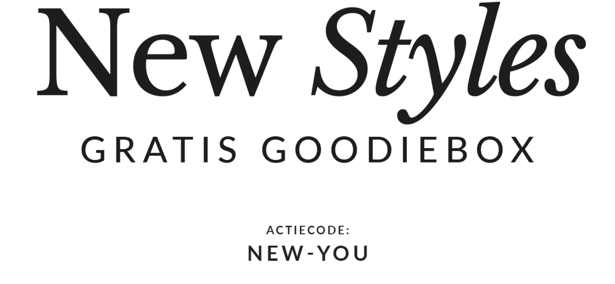 Gratis Goodiebox t.w.v. €100