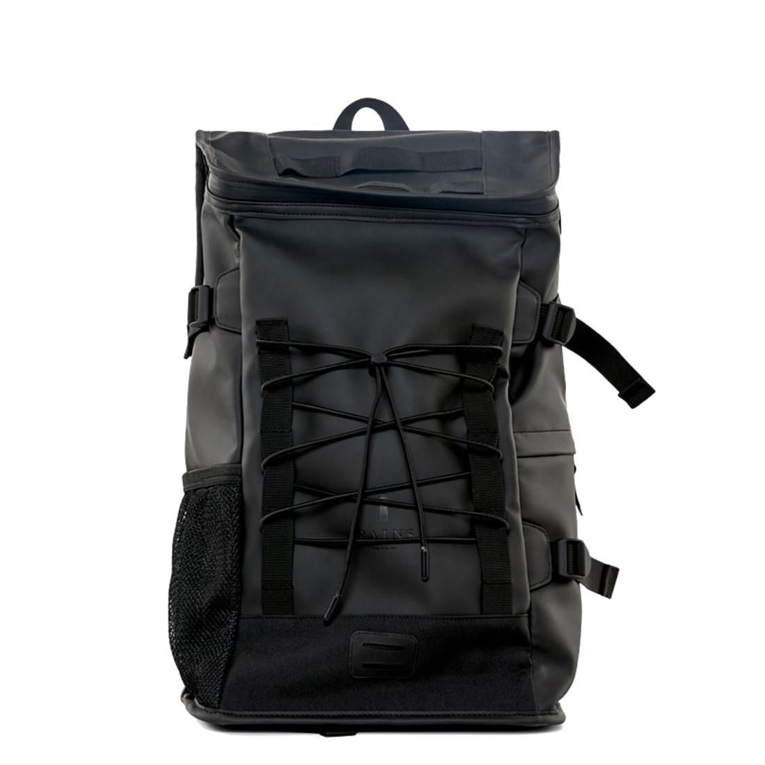 Afbeelding van Rains Original Mountaineer Bag Backpack Black Casual Rugtassen