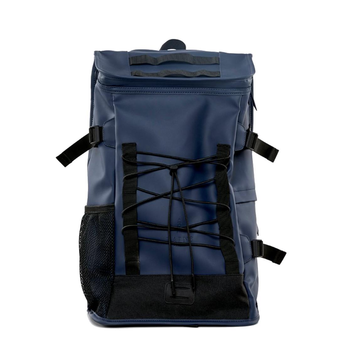 Afbeelding van Rains Original Mountaineer Bag Backpack Blue Casual Rugtassen