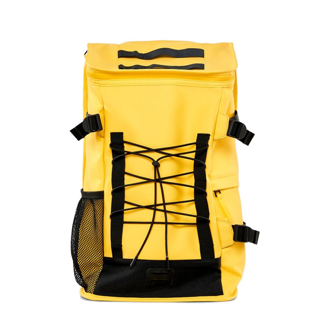Afbeelding van Rains Original Mountaineer Bag Backpack Yellow Casual Rugtassen