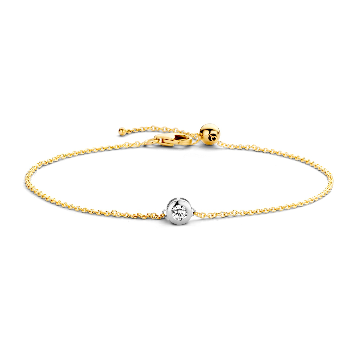 Afbeelding van Blush 14 Karaat Gouden Armband 2167BZI (Lengte: 18.00 cm)