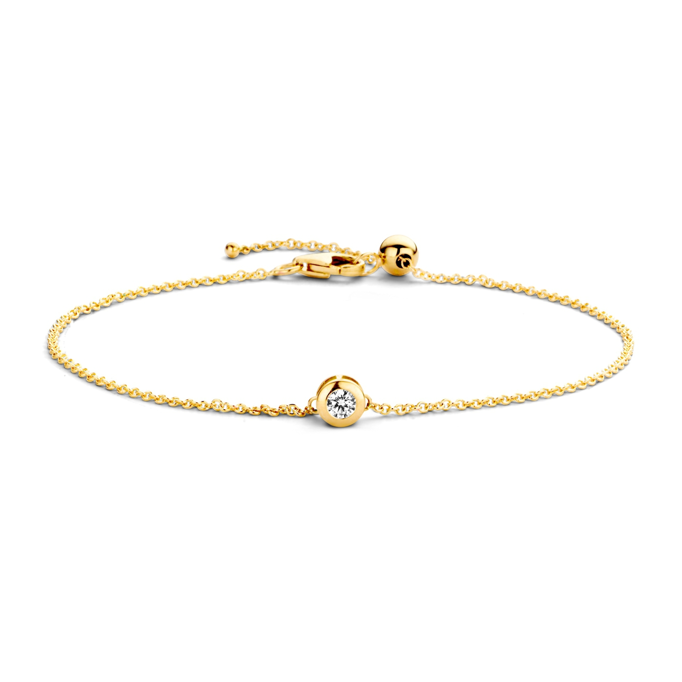 Afbeelding van Blush 14 Karaat Gouden Armband 2167YZI (Lengte: 18.00 cm)