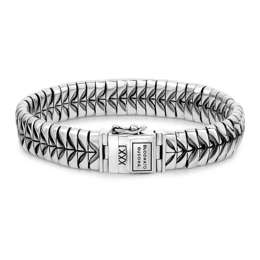 Afbeelding van Buddha to 064 Komang Silver Armband (19.00 cm)