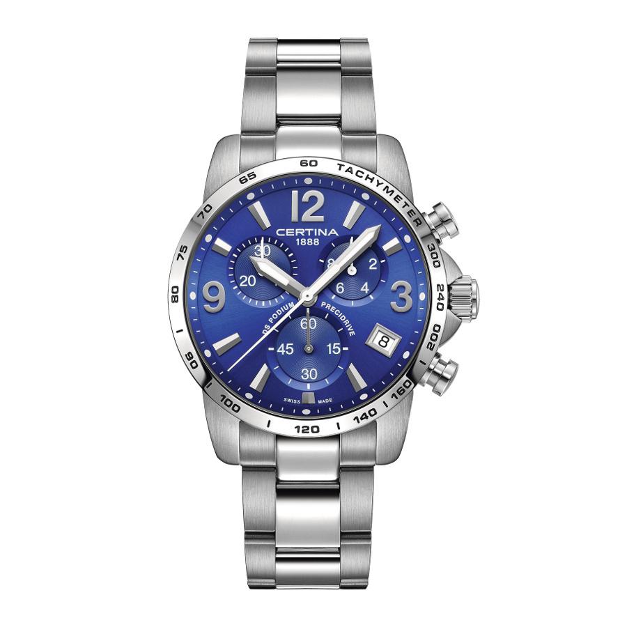 Afbeelding van Certina Gent Quartz DS Podium Chronograaf Horloge C0344171104700