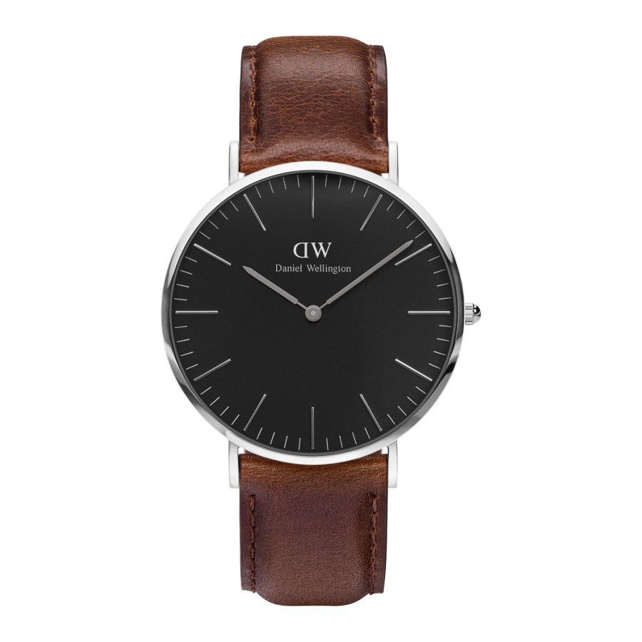 Afbeelding van Daniel Wellington Classic Black Bristol horloge DW00100131 (40 mm)