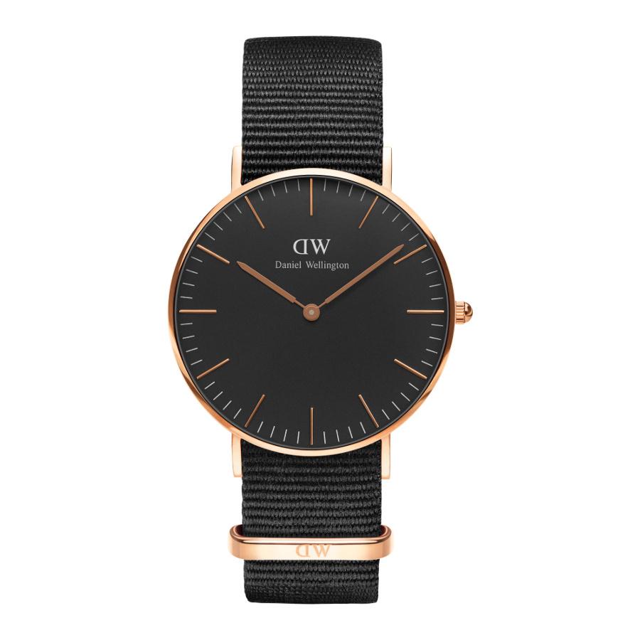 Afbeelding van Daniel Wellington Classic Black Cornwall horloge DW00100150 (36 mm)
