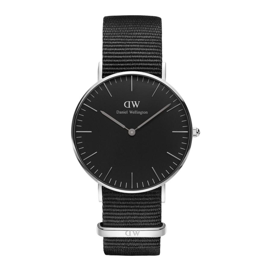 Afbeelding van Daniel Wellington Classic Black Cornwall horloge DW00100151 (36 mm)