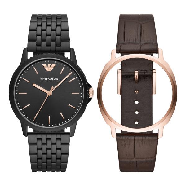 Afbeelding van Armani Exchange Interchangeable Giftset horloge AR80021