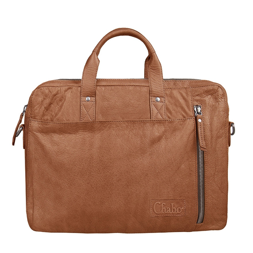 Afbeelding van Chabo Bags Boston Office Camel Laptoptas 8719274532736