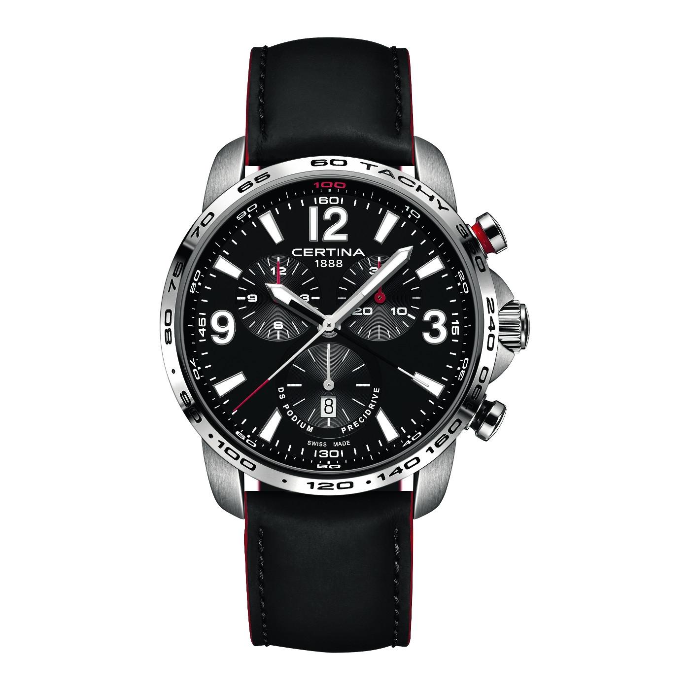 Afbeelding van Certina Sport Podium Big Chronograph horloge C001.647.16.057.01