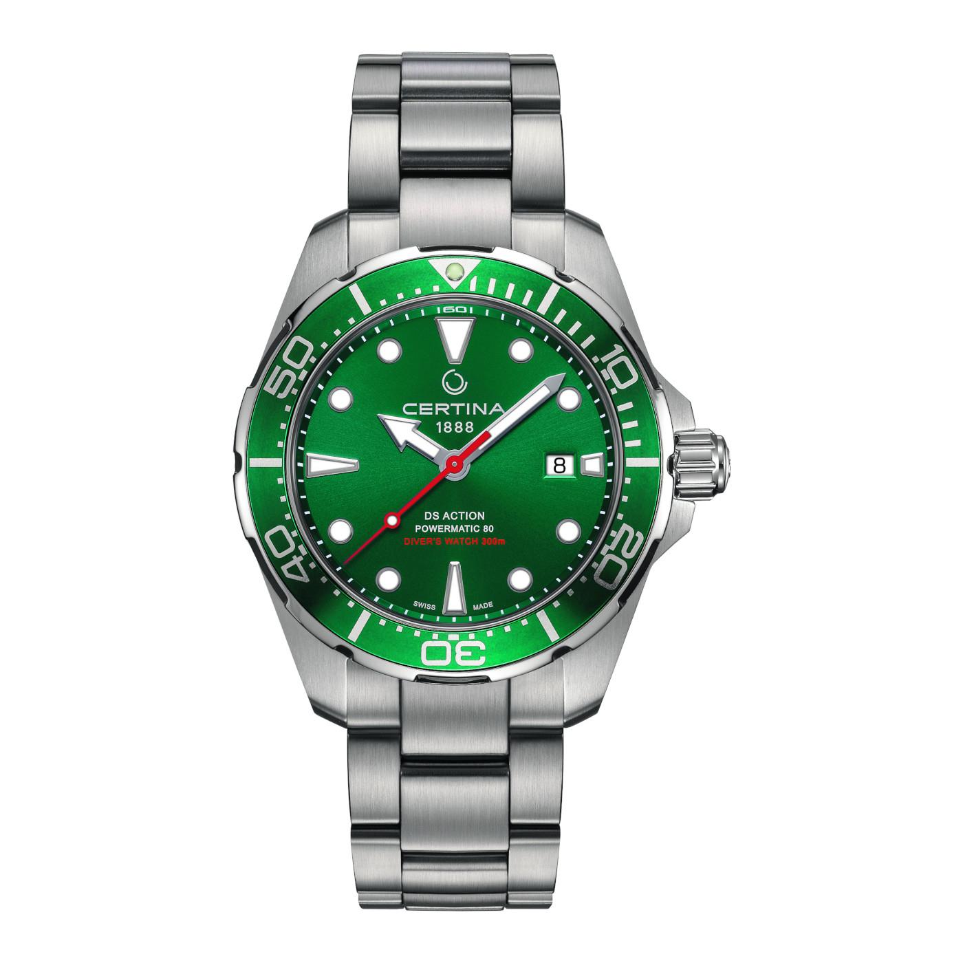 Afbeelding van Certina Aqua DS Action Diver Automaat horloge C032.407.11.091.00