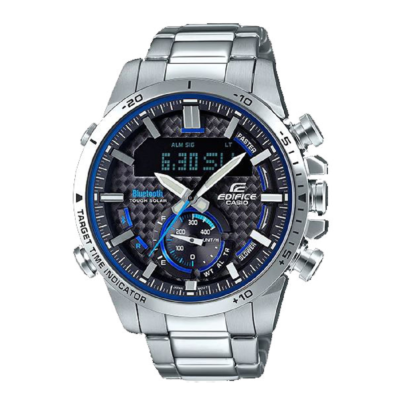 Afbeelding van Edifice Bluetooth Connected Race Chrono horloge ECB 800D 1AEF