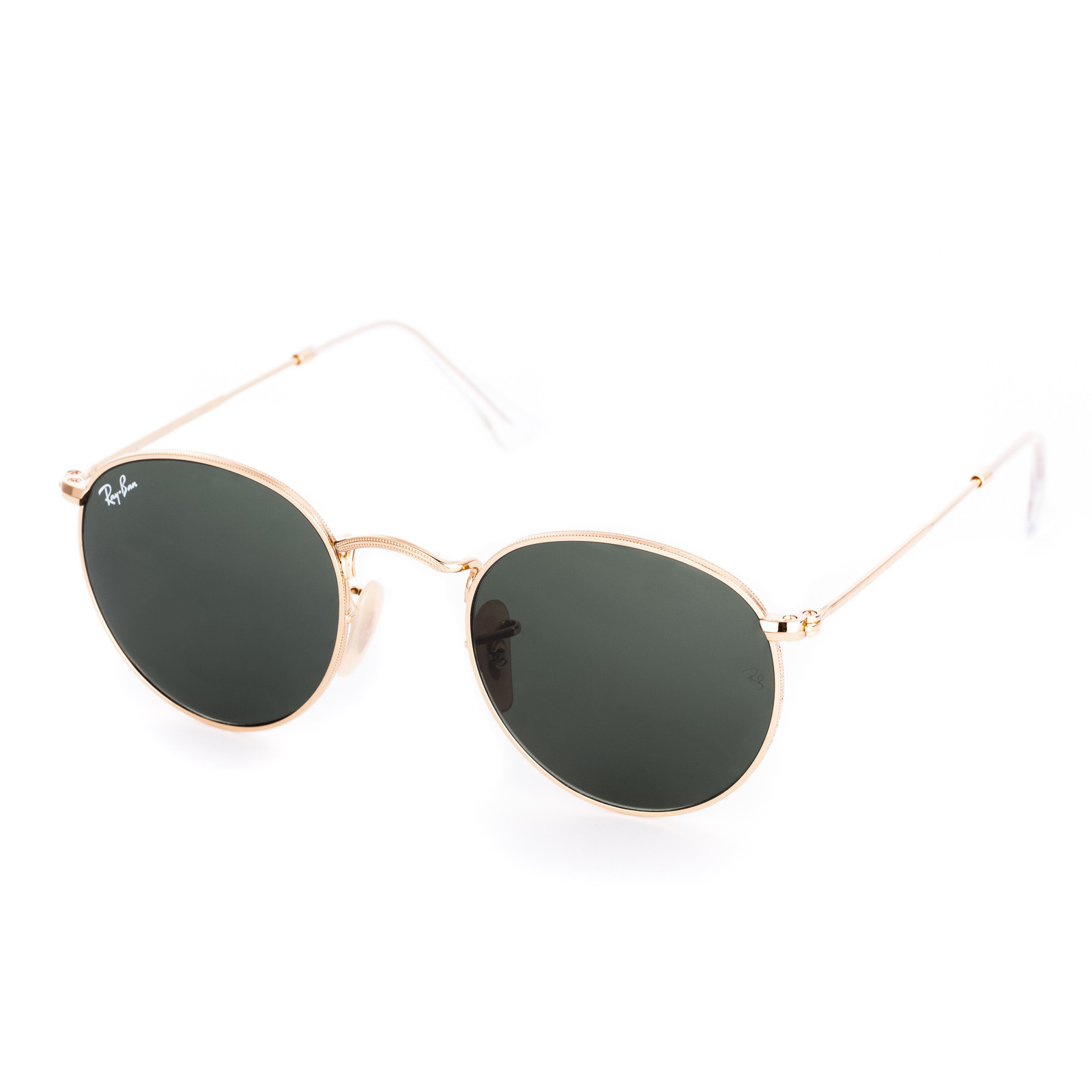 9379ca21a03328 Ray-Ban Round Metal Zonnebril RB3447 47 001