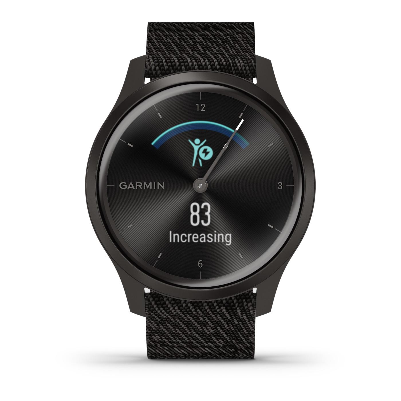 Garmin Vivomove Style Chrono Hybrid Smartwatch 010-02240-03
