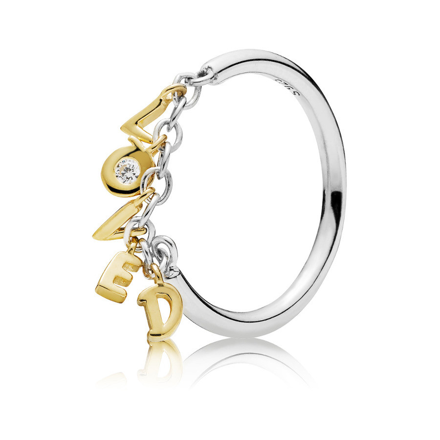 Pandora 925 Sterling Zilveren Loved Shine Ring 167799CZ