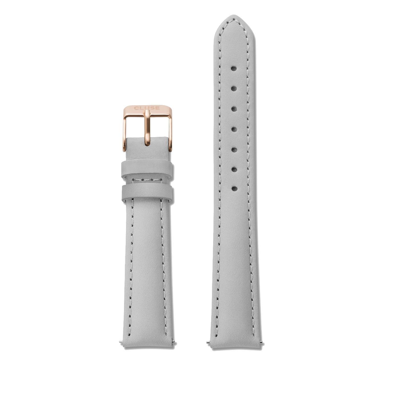 CLUSE Strap 16 mm Minuit Grey/Rose gold CS1408101027