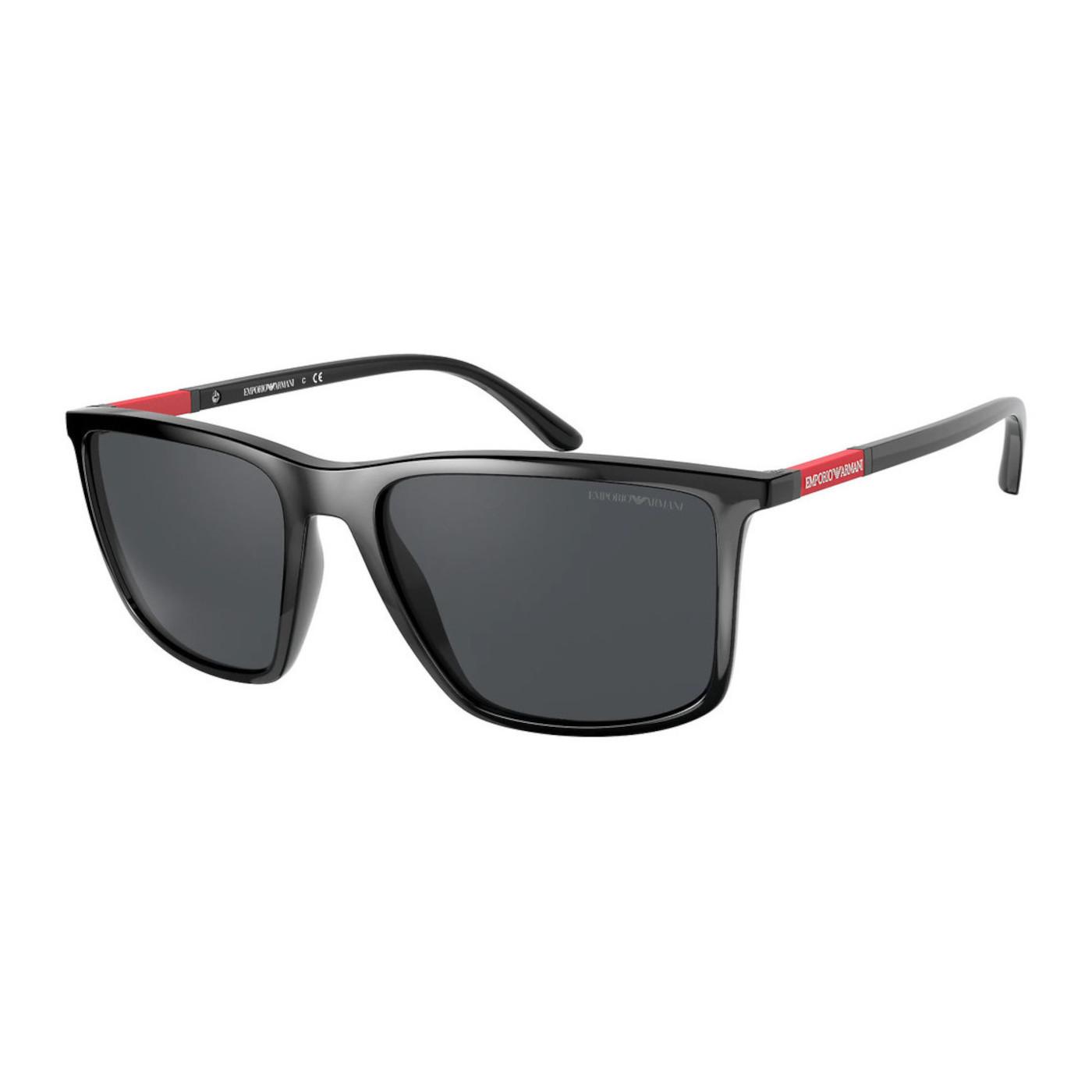 Emporio Armani Black Zonnebril EA416150178757