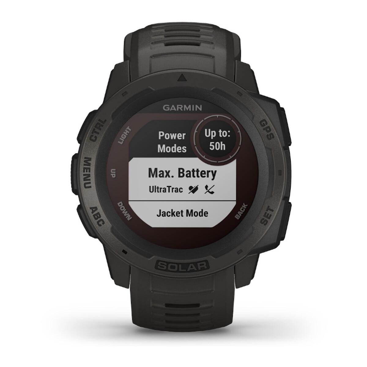 Garmin Instinct Solar Graphite Smartwatch 010-02293-00