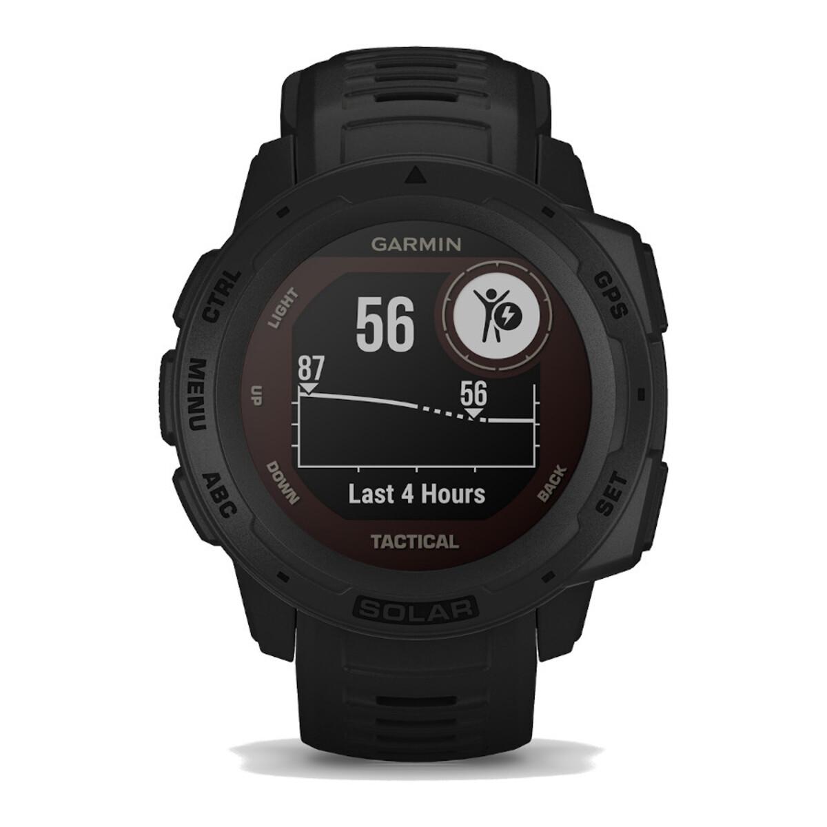 Garmin Instinct Solar Tactical Black Smartwatch 010-02293-03