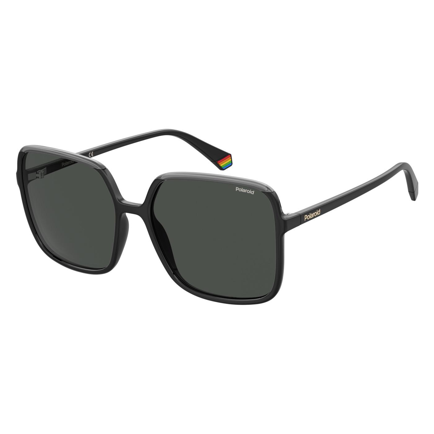 Polaroid Black Grey Zonnebril PLD-6128S-08A-59-M9