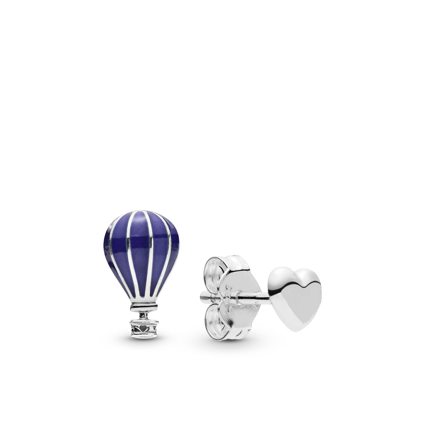 Pandora Stories 925 Sterling Zilveren Air Balloon Oorbellen 298058EN195