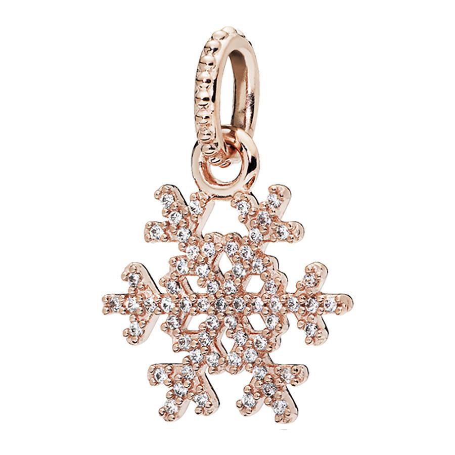 Pandora Rose Sparkling Snowflake Hanger 380354CZ