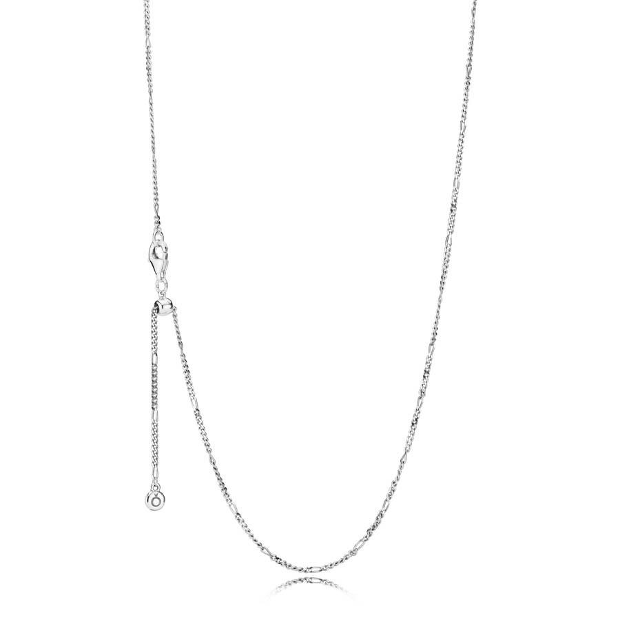Pandora Stories 925 Sterling Zilveren Ketting 397723-70 (Lengte: 70.00 cm)