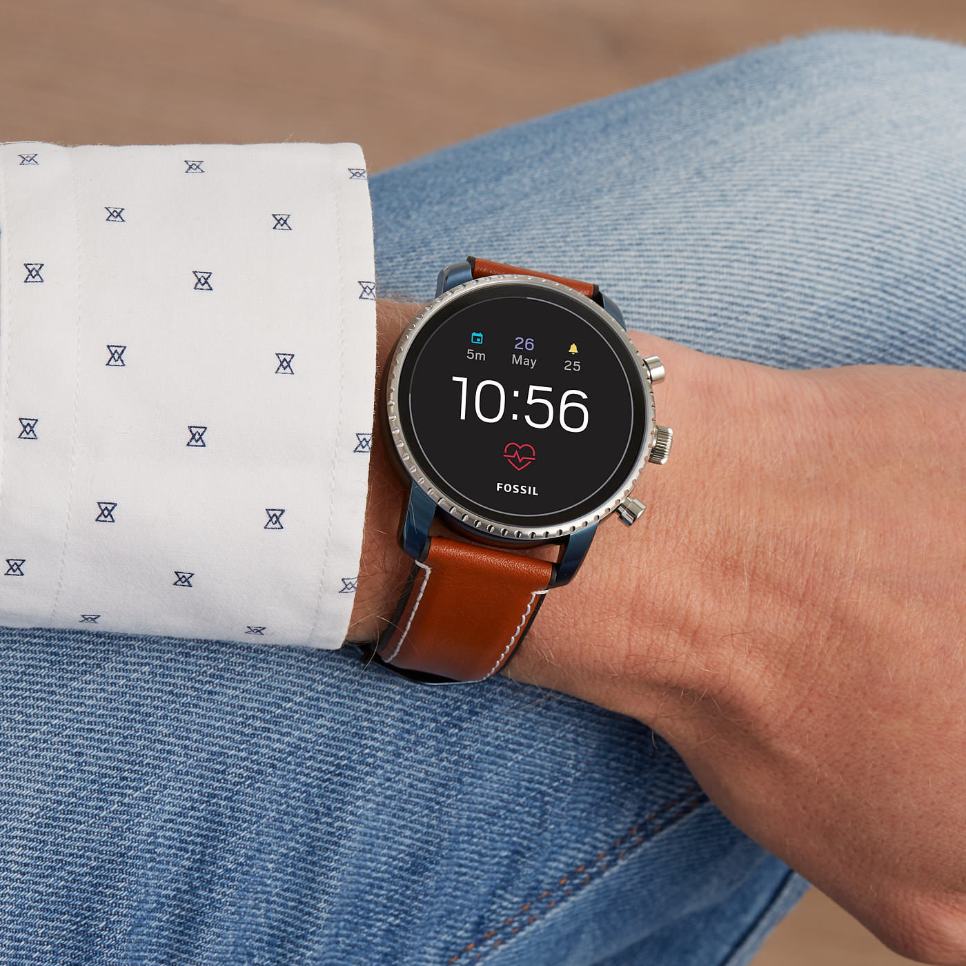 Fossil Q Explorist Gen 4 Display Smartwatch FTW4016