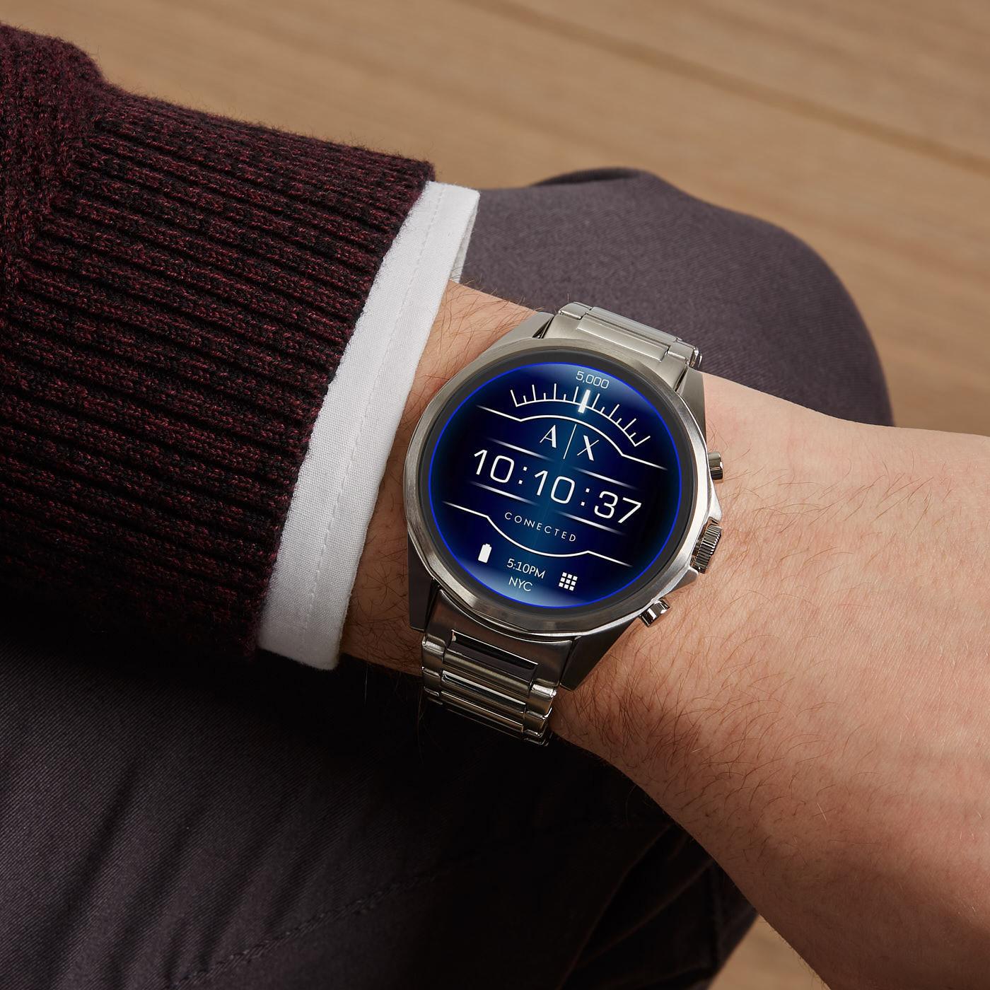 Armani Exchange Connected Drexler Gen 4 Display Smartwatch AXT2000