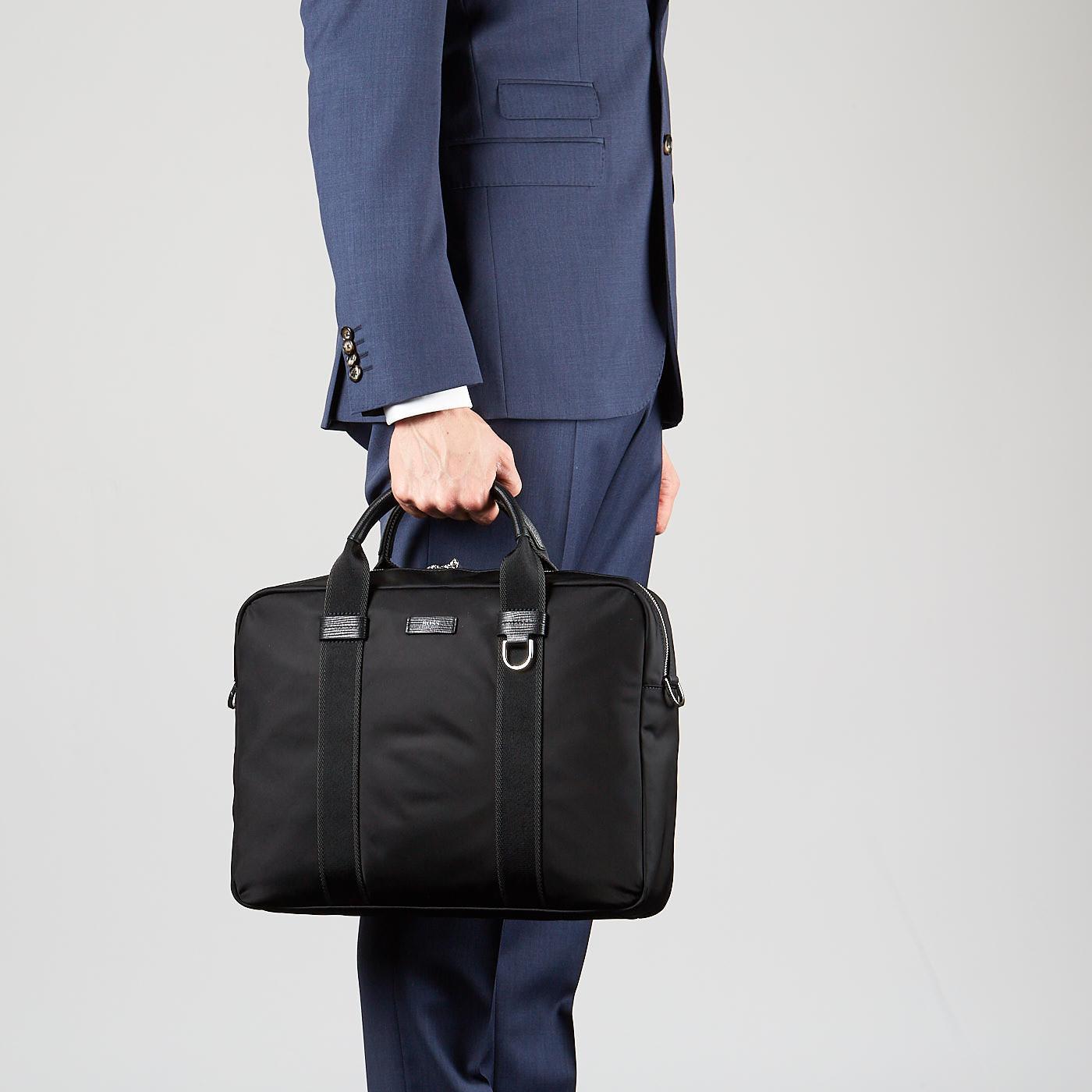 Hugo Boss Meridian Black Handtas 50407151-001