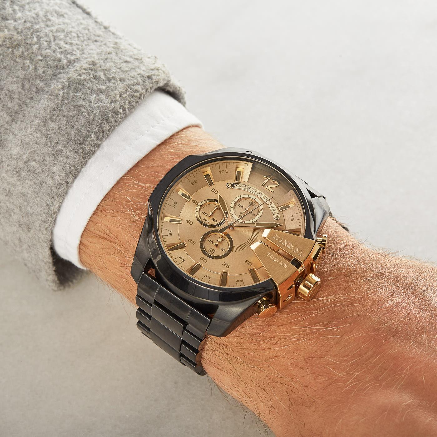 Diesel Mega Chief horloge DZ4485