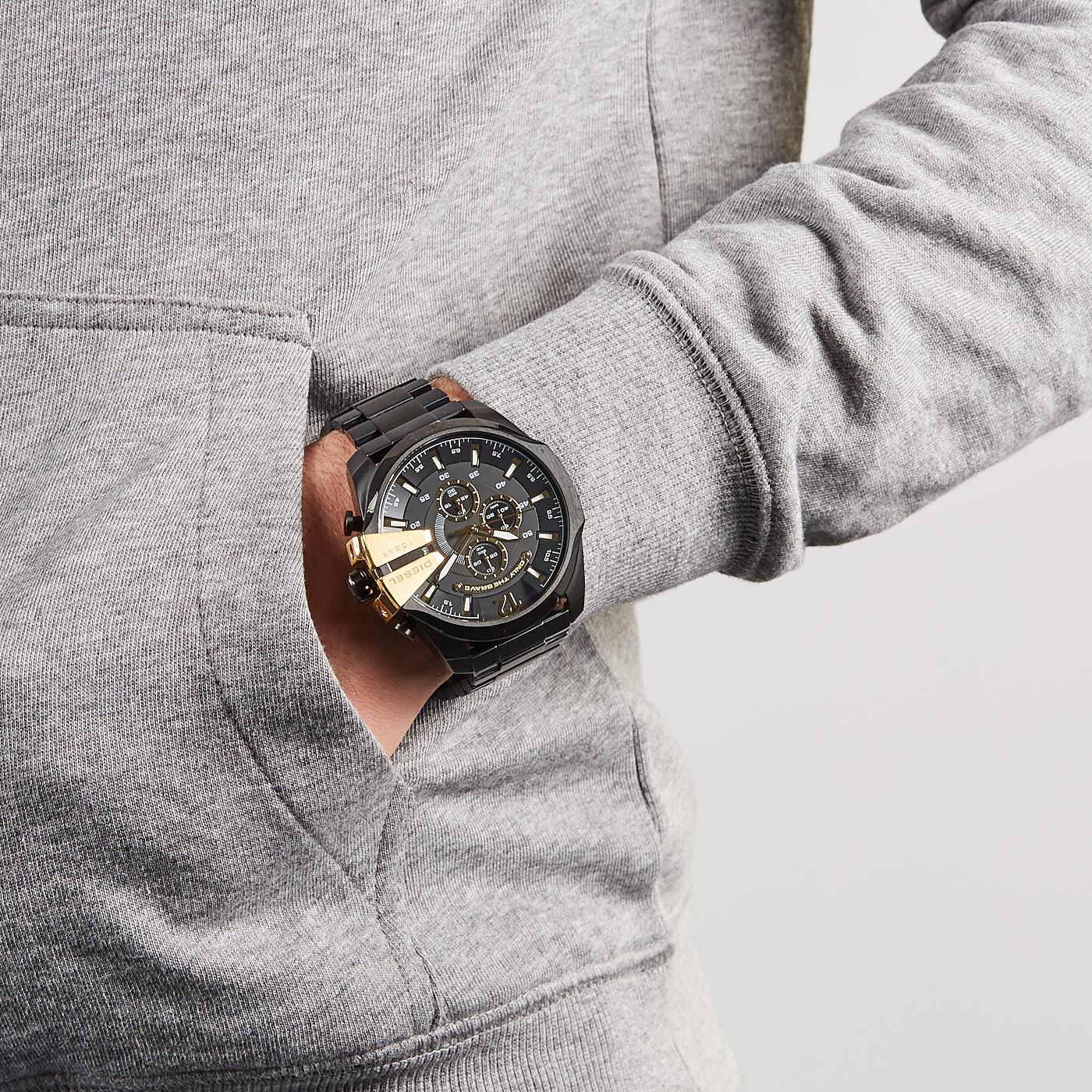 Diesel Mega Chief horloge DZ4338