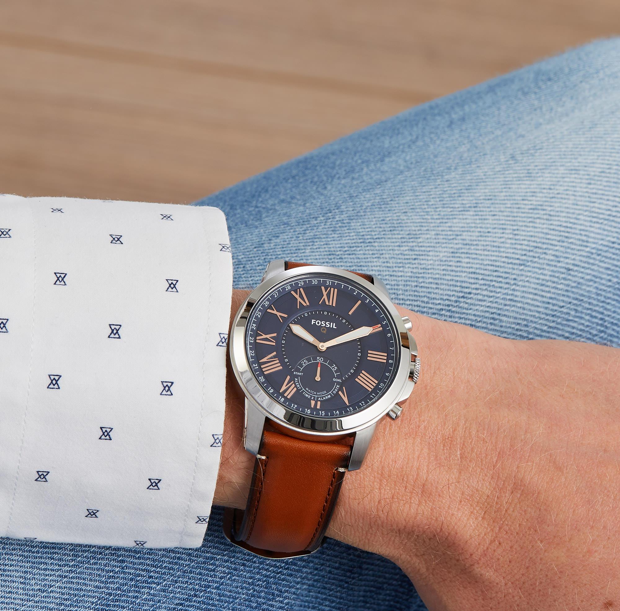 Fossil Q Grant Hybrid Smartwatch FTW1122