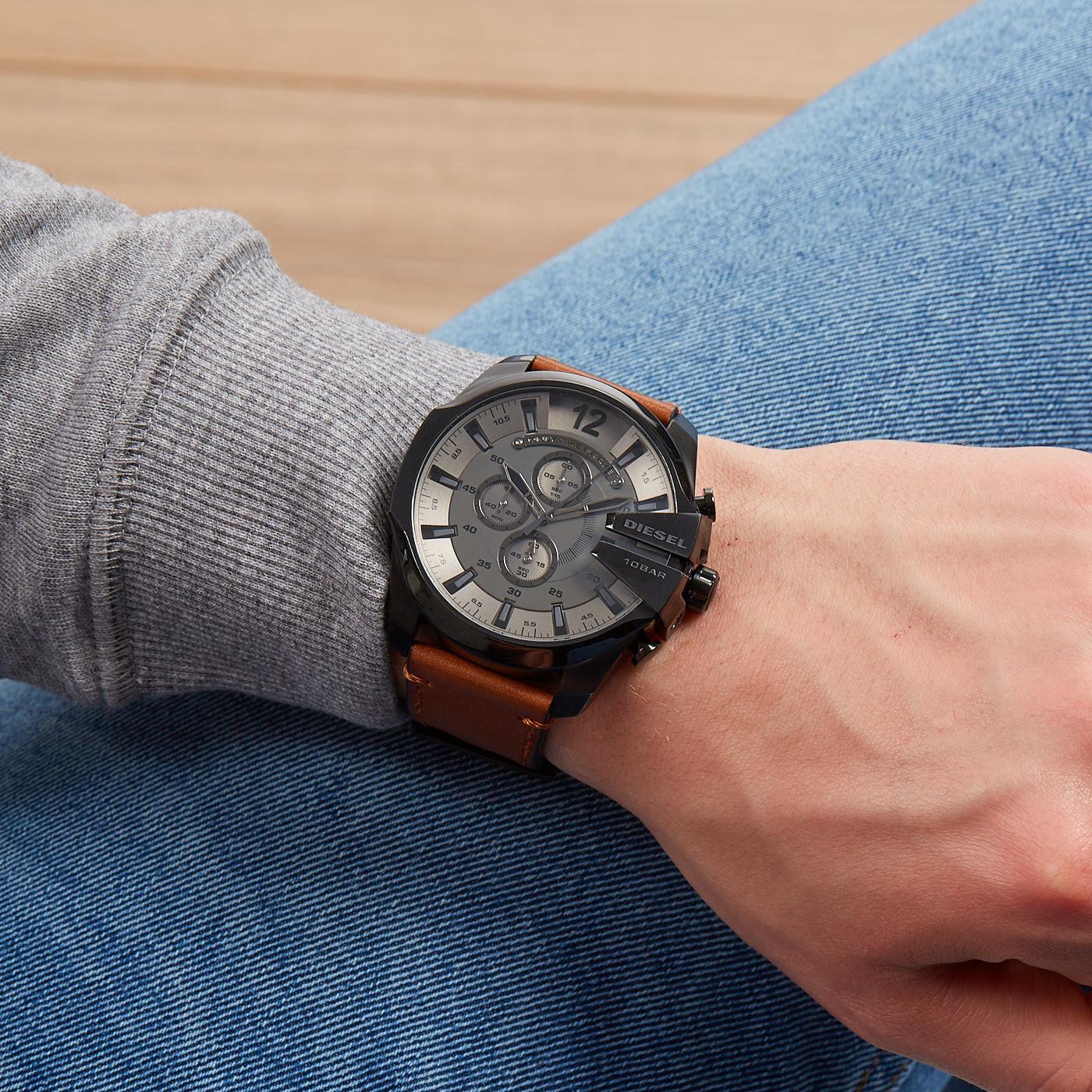 Diesel Mega Chief Heren horloge DZ4463