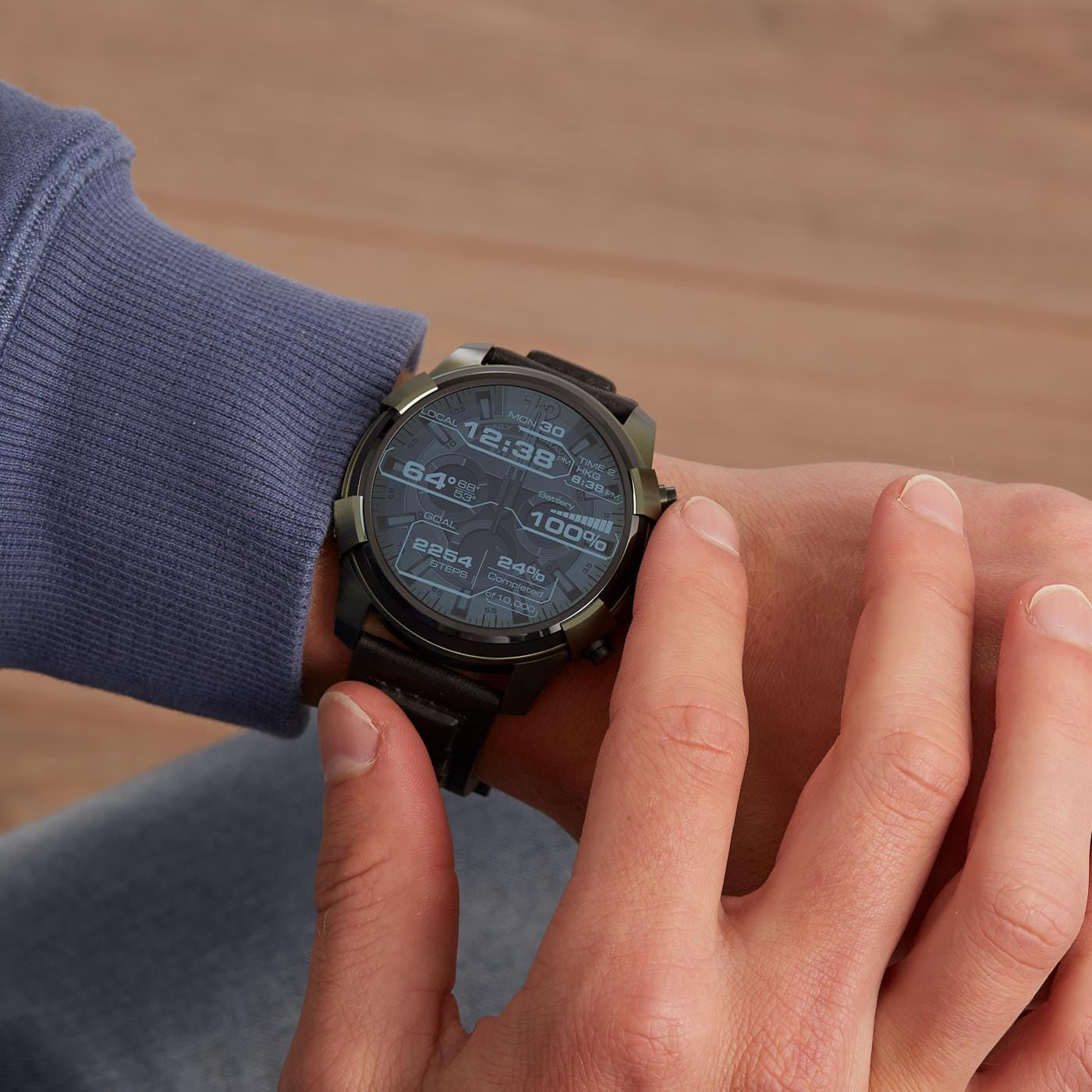 Diesel On Full Guard Smartwatch DZT2003