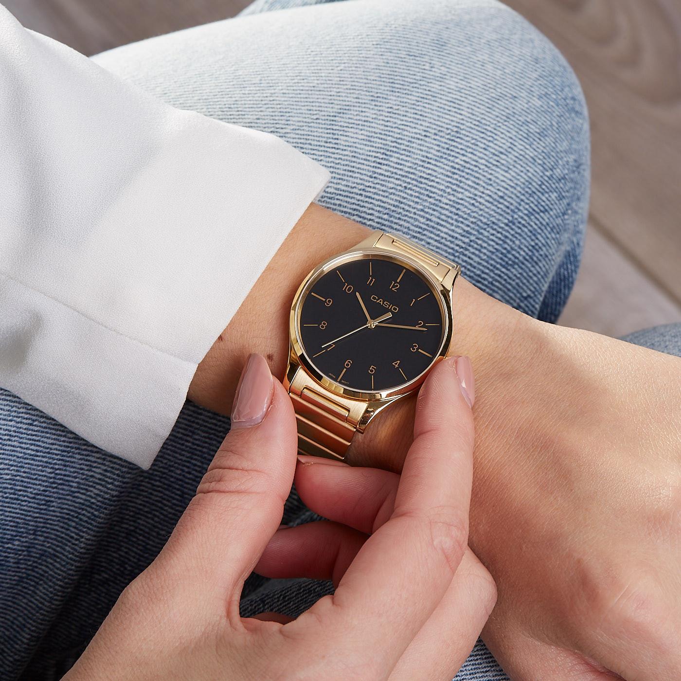 c1edd031d81 Casio Retro horloge LTP-E140GG-1BEF