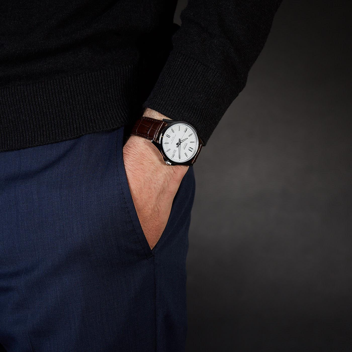 Casio Collection horloge MTS-100L-7AVEF