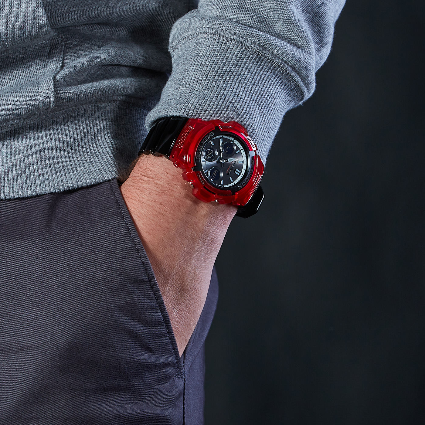 G-Shock Classic Horloge AWG-M100SRB-4AER