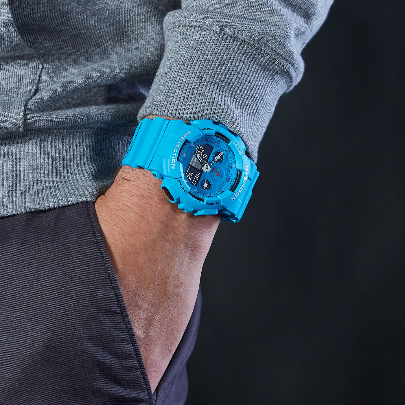 G-Shock Classic Horloge GA-100RS-2AER
