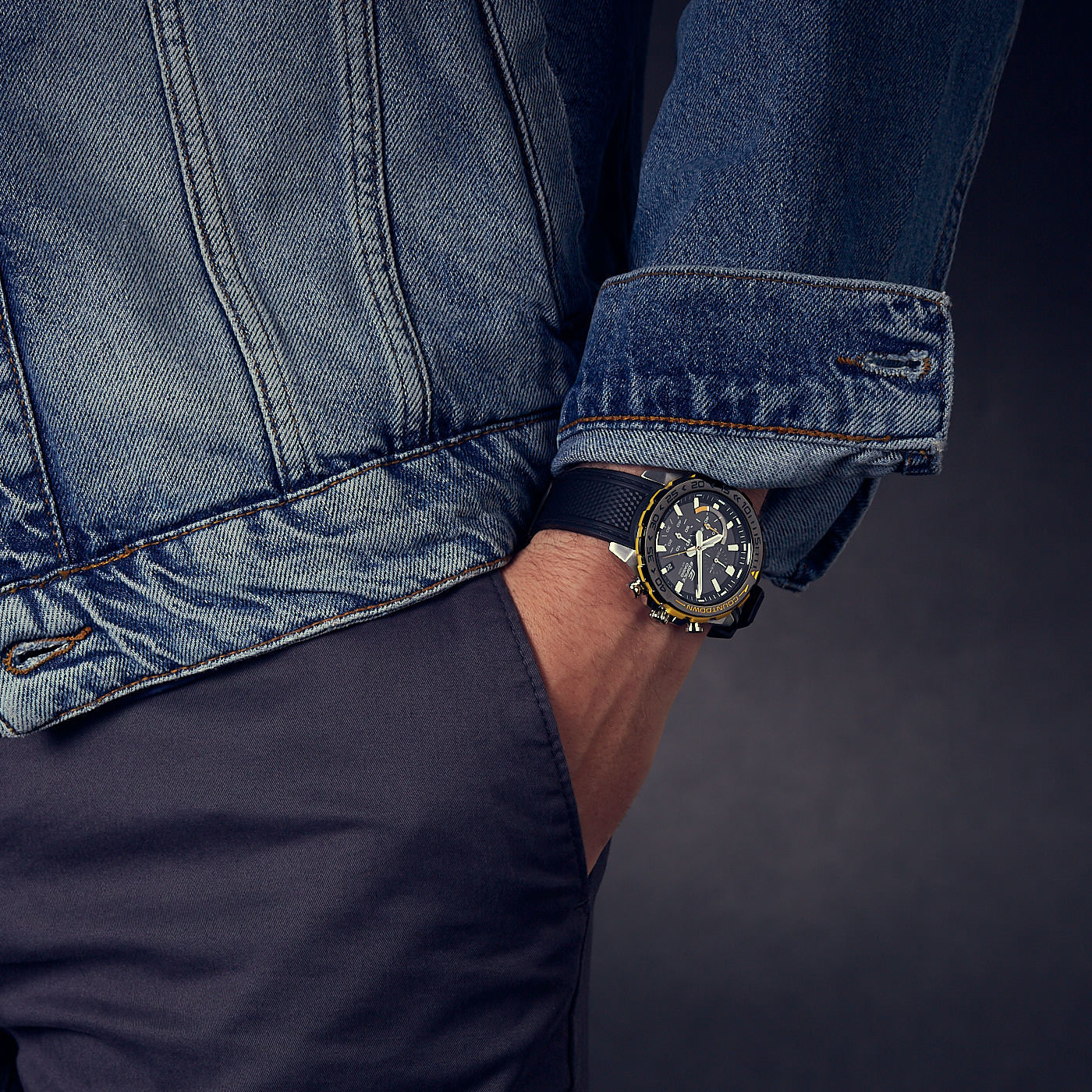 Edifice Classic Horloge EFR-566PB-1AVUEF