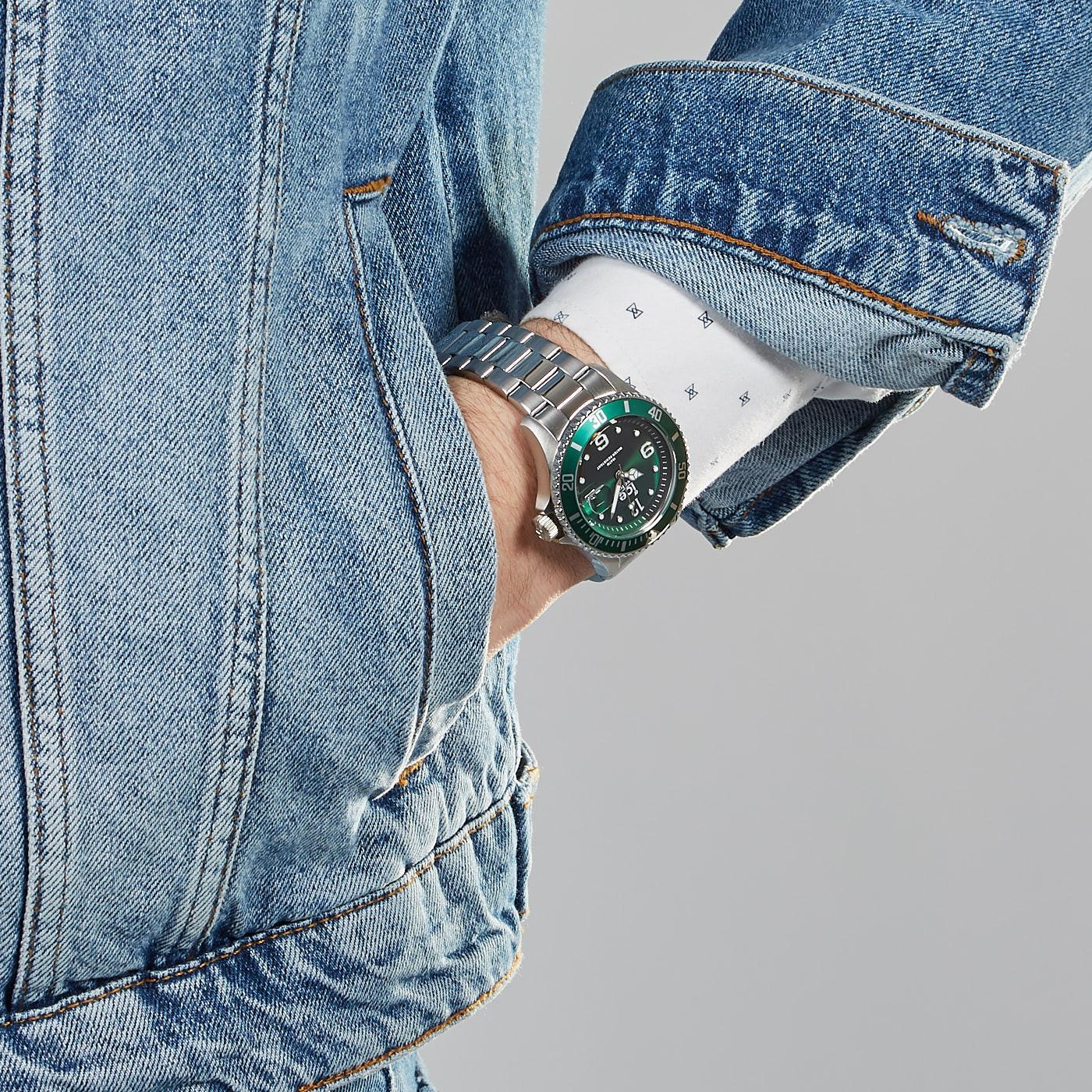 Ice-Watch ICE-Steel Zilverkleurig horloge IW016544 (40 mm)