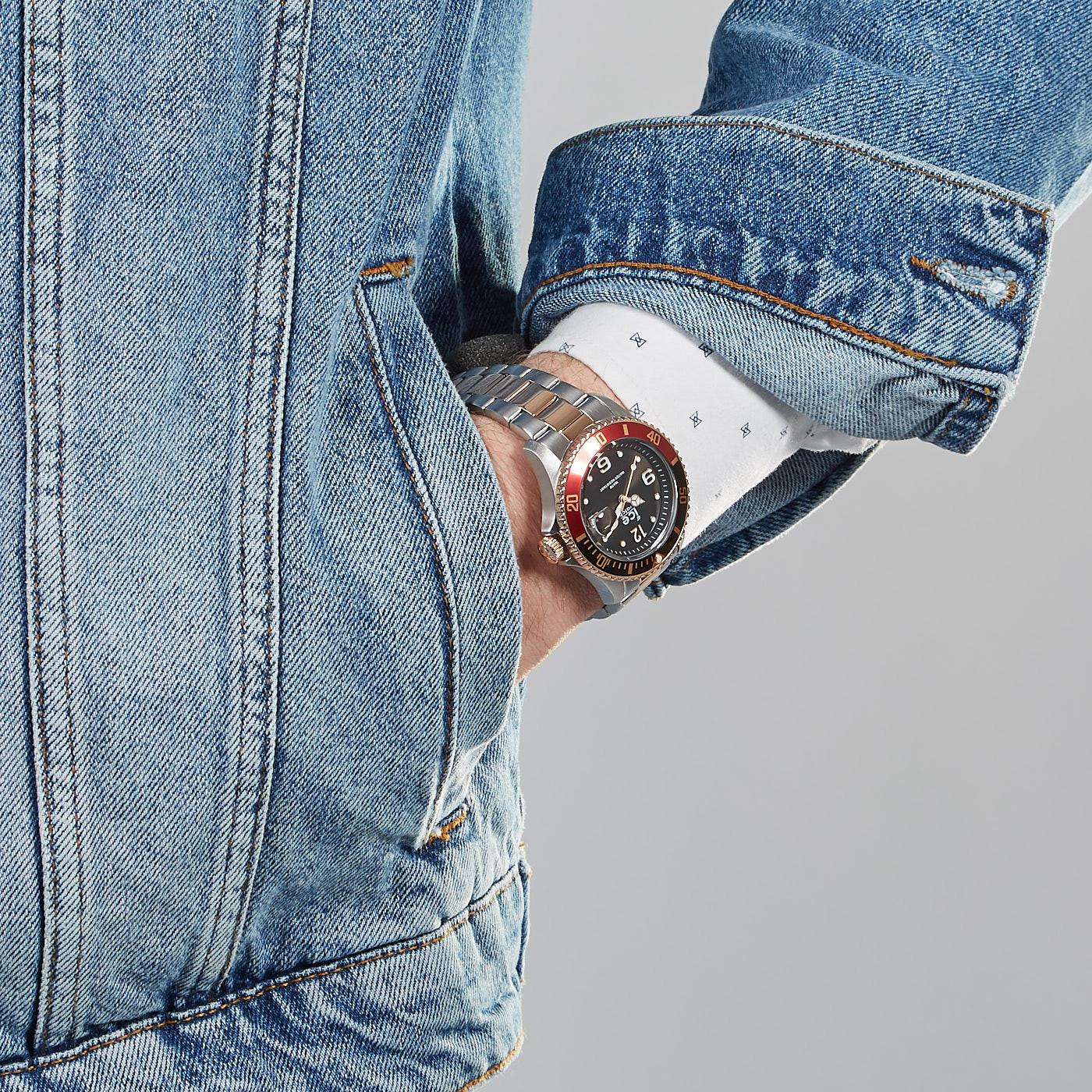 Ice-Watch ICE-Steel Bicolor horloge IW016546 (40 mm)