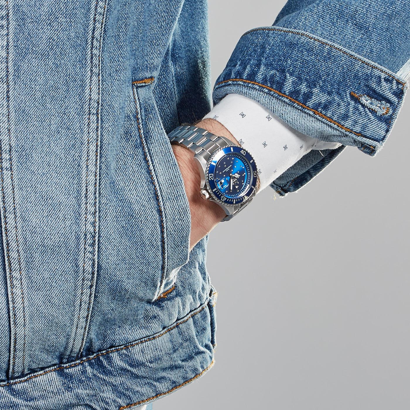 Ice-Watch ICE-Steel Zilverkleurig horloge IW016773 (40 mm)