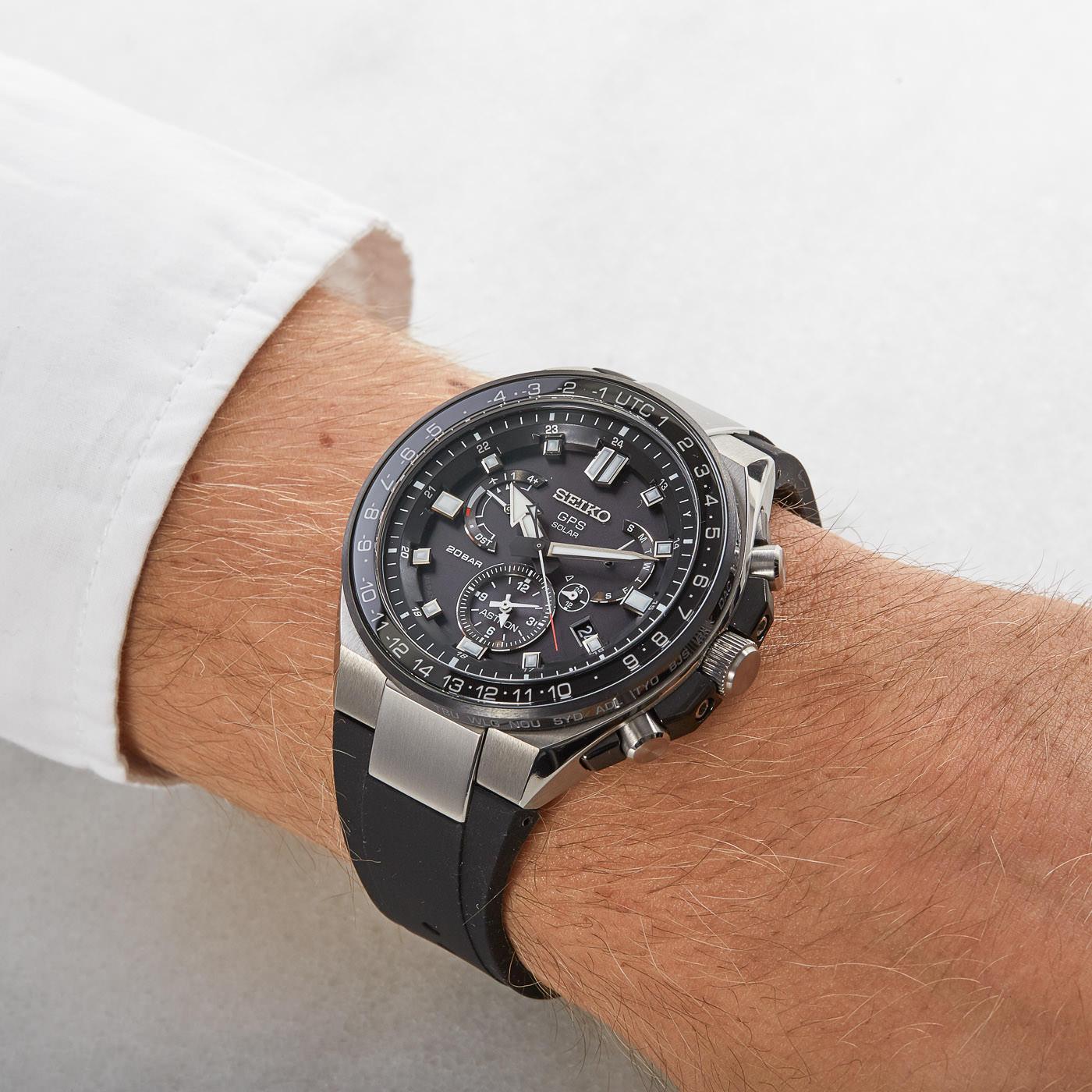 Seiko Astron GPS Solar horloge SSE169J1