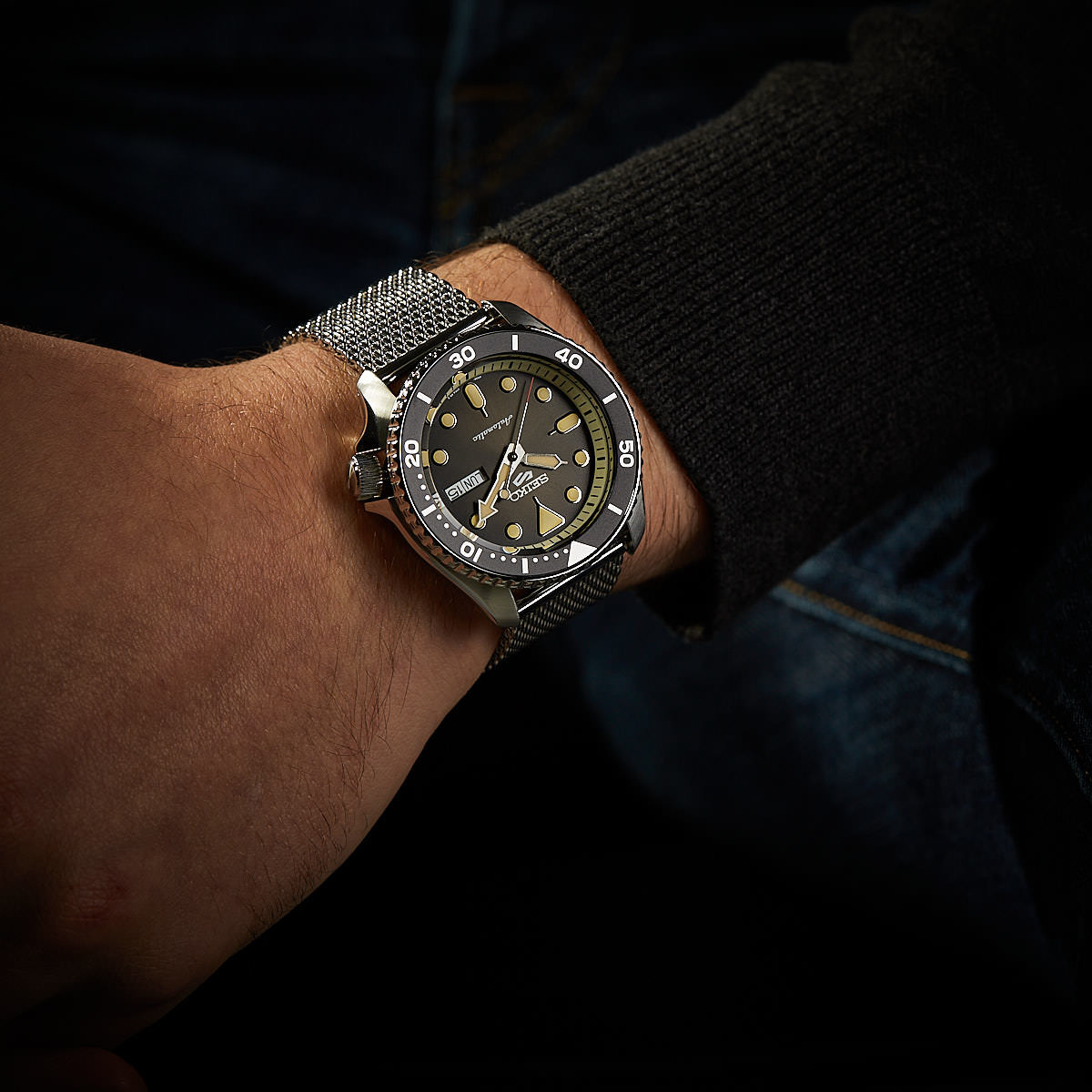 Seiko 5 Sports Automaat horloge SRPD73K1
