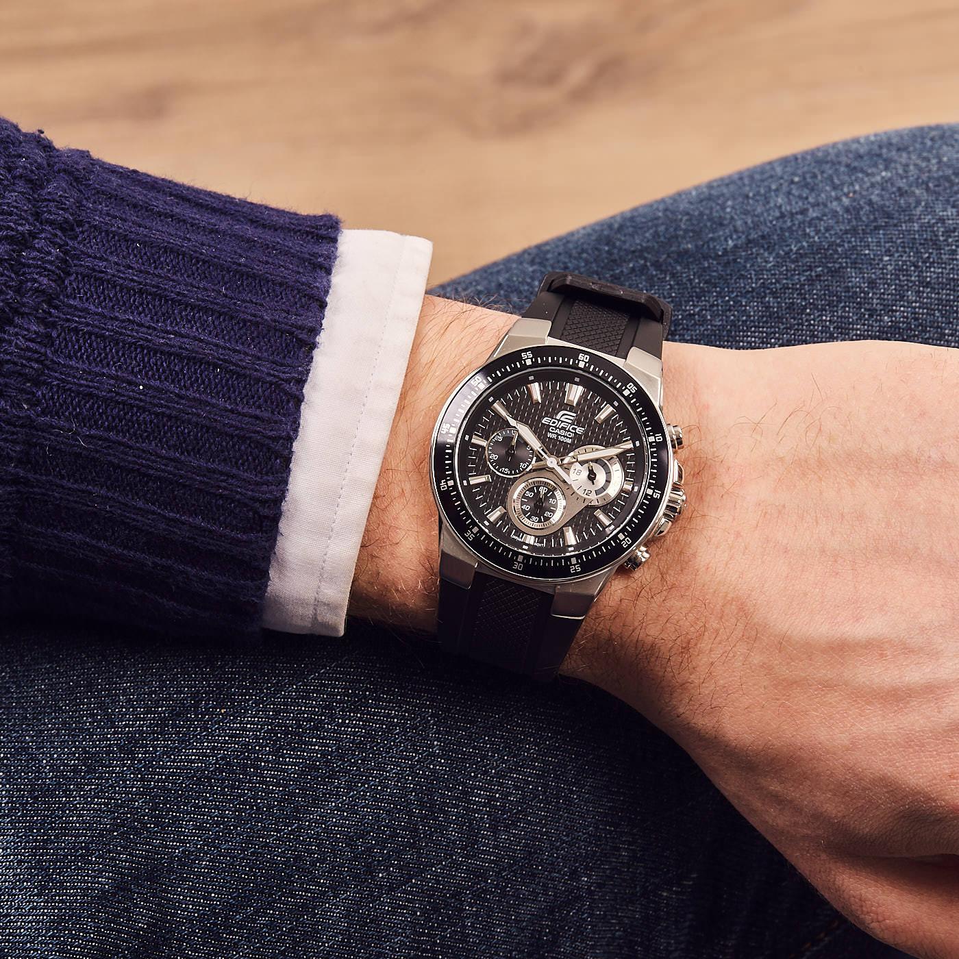 1360c4597d56 Edifice Classic horloge EF-552-1AVEF