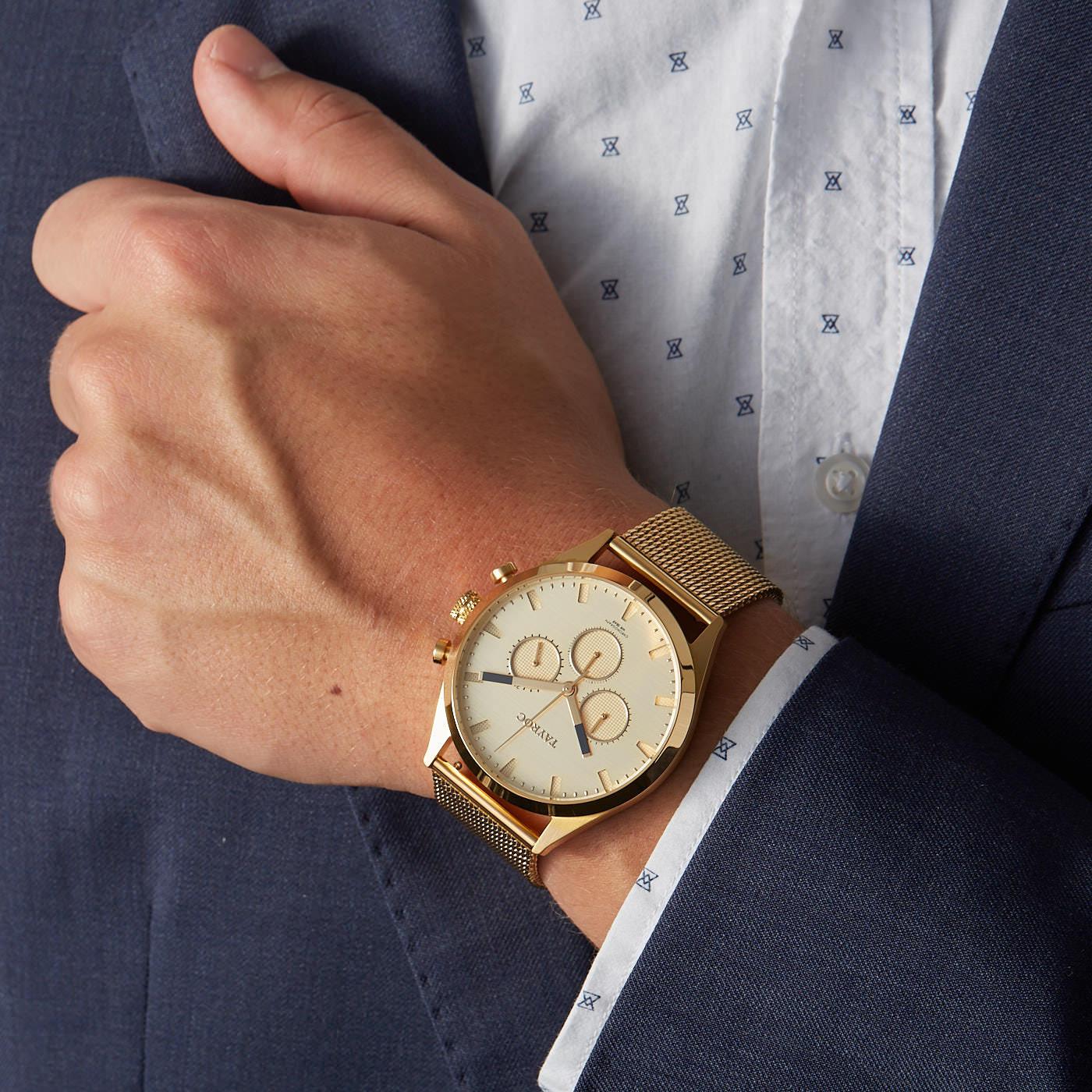 Tayroc Pioneer Lotus horloge TXM019-L