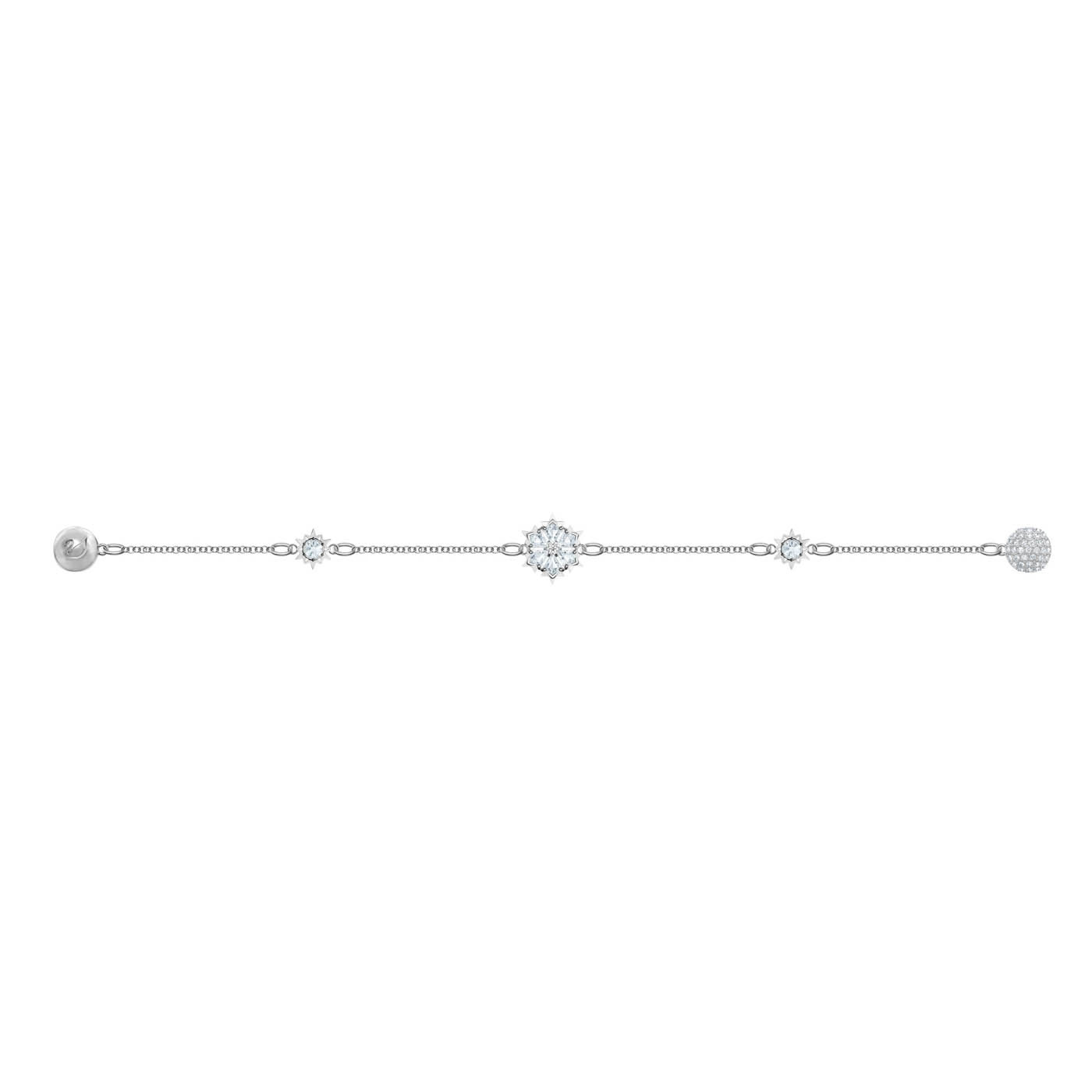 Swarovski Remix Strand Snowflake Armband (Lengte: 18.00-18.50 cm)