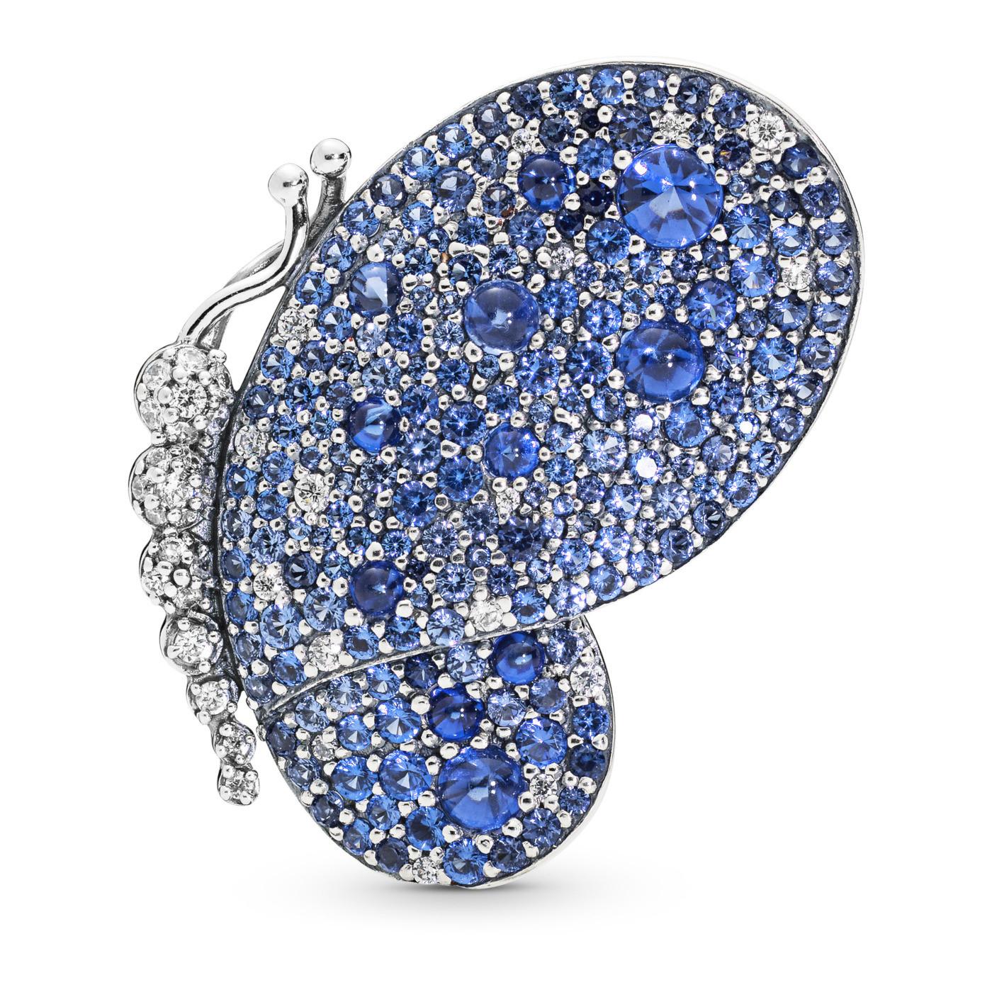 Pandora Stories 925 Sterling Zilveren Butterfly Brooches & pins 697996NCB